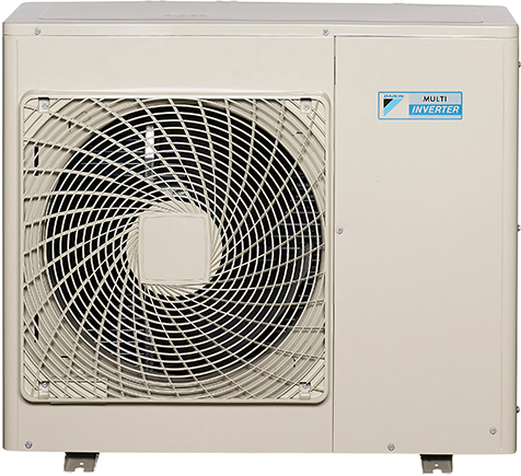 A Daikin Commercial Air Conditioner inverter unit.